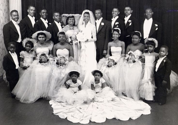 African American Weddings In The 1930s