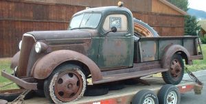 1937 Chevrolet Model GF 1 12 Ton Express Oickup Truck For