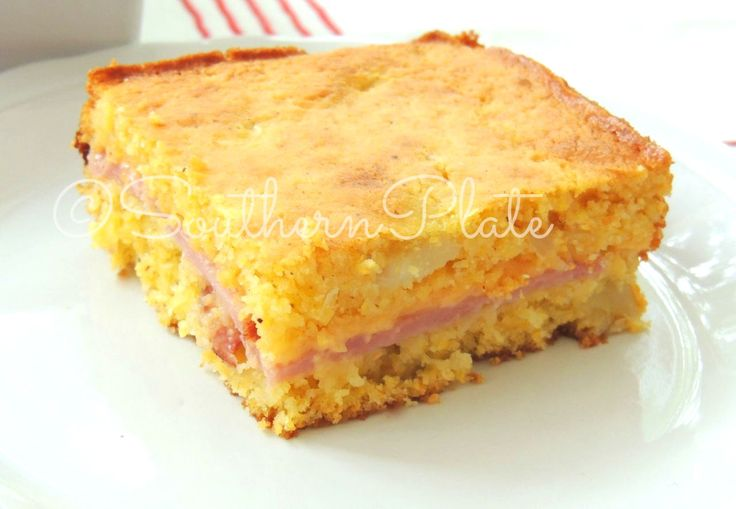 Cornbread Pan Sandwiches ~  I made these for dinner tonight and everyone loved them!  Perfect blend of sweet & savory. Hearty