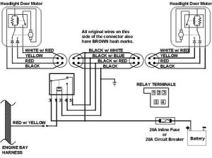 67 Camaro headlight Wiring Harness Schematic | This is the 1967 wiring diagram The 1968 wiring