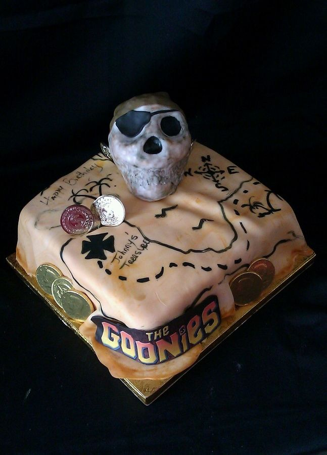 Goonies Cake Food Pinterest Themed Cakes Cakes And