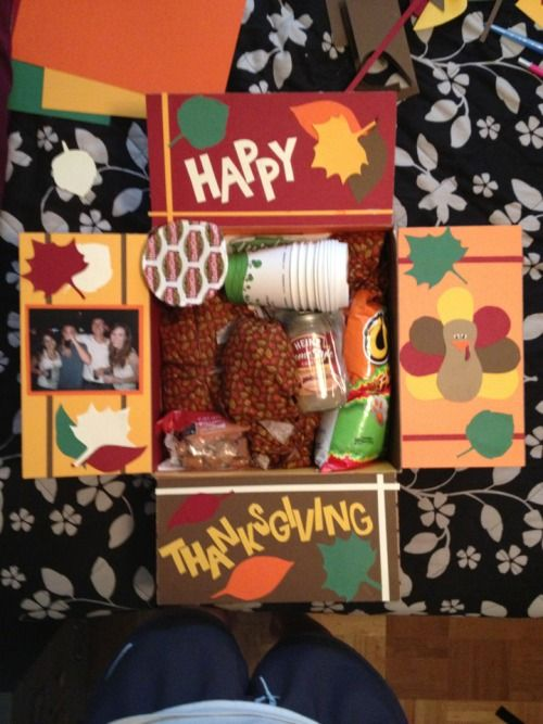 Thanksgiving In A Box For Service Members On Deployment