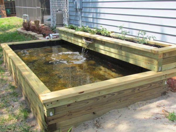 raised koi pond garden Best 20+ Raised pond ideas on Pinterest | Pond design