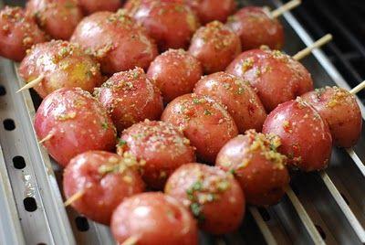 Grilled Potatoes – I love t