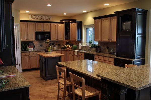 1000 images about kitchens with black appliances on pinterest oak cabinets white kitchen on kitchen remodel appliances id=33860