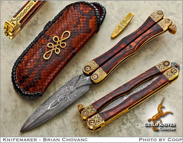 Knives Weapon Butterfly