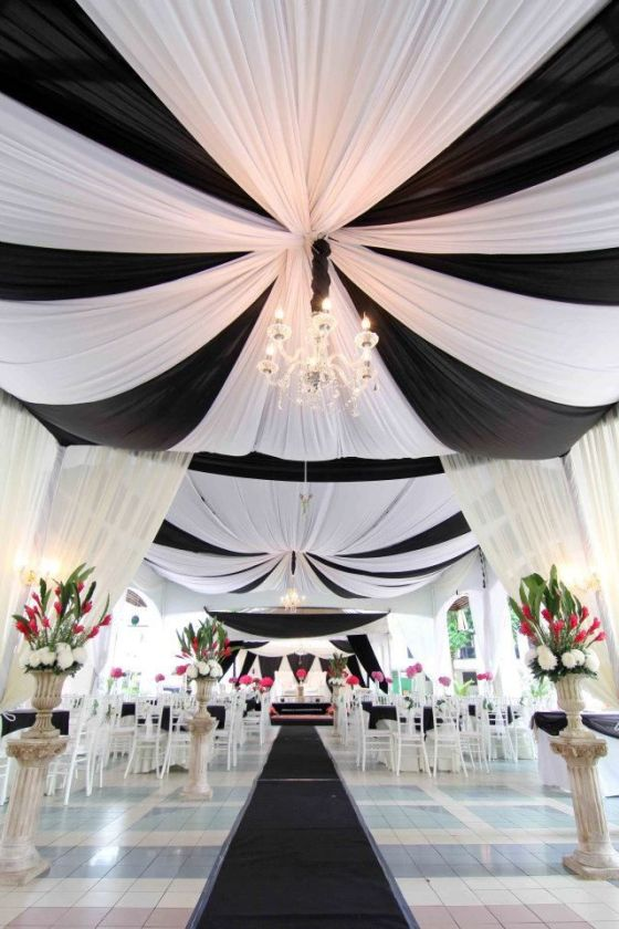 Black and white wedding #wedding #love #black #white #black #ideas #motif #theme