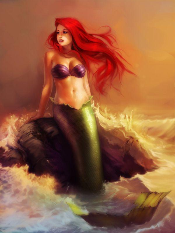 .Awesome. Little Mermaid tattoo idea