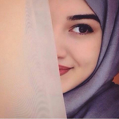 hijab, eye, and cute image | Beautiful Hijab~Shawl~Scarf ...