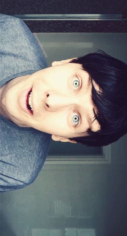 Phil, the most amazing thing in the world.hence amazingphil;)