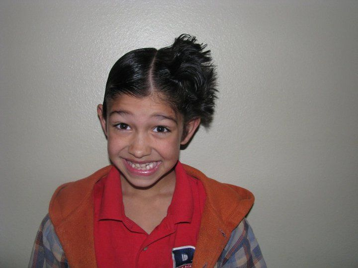 Crazy Hair Day Teen Style Boy Hairstyle