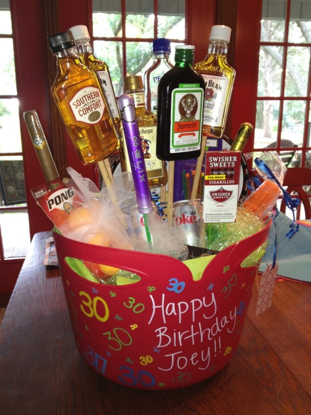 30th birthday flowers for a man gift ideas