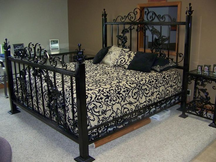 Victorian Wrought Iron King Size