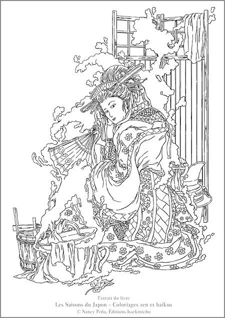 210 Best Images About Asian Colouring Pages On Pinterest