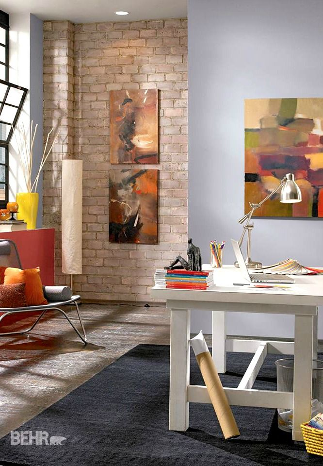 BEHR Paint In Paparazzi Flash Is Perfect For Showcasing