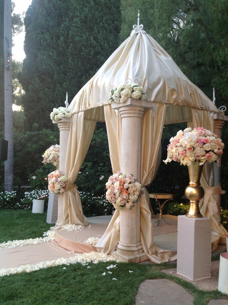 Indian Wedding Mandap Decor Dea Stages W Pinterest