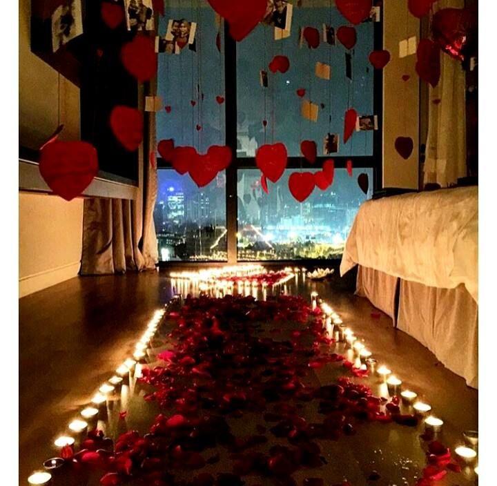 17 Best Ideas About Romantic Surprise On Pinterest