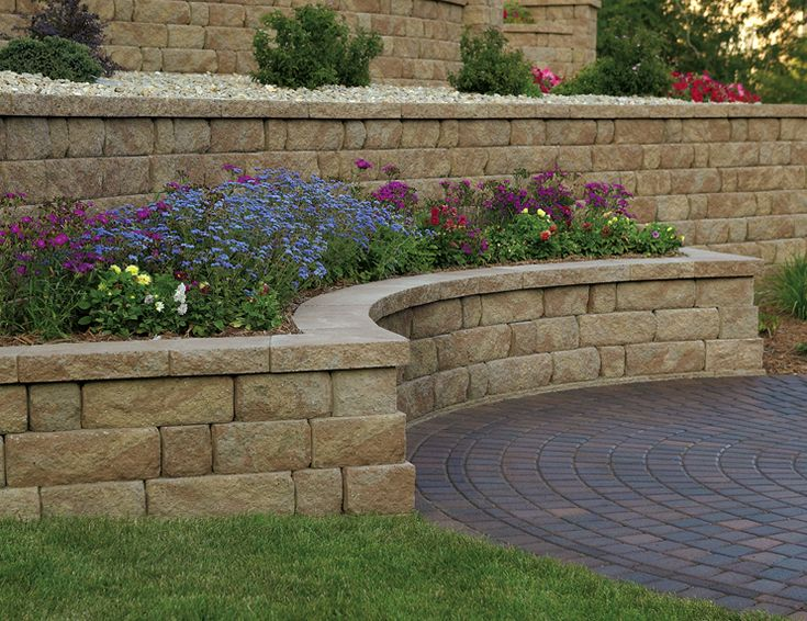 729 best images about retaining wall ideas on pinterest on wall blocks id=35957