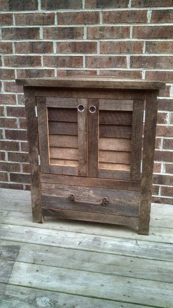 Your Rustic Barn Wood Traningle Vanity Or By