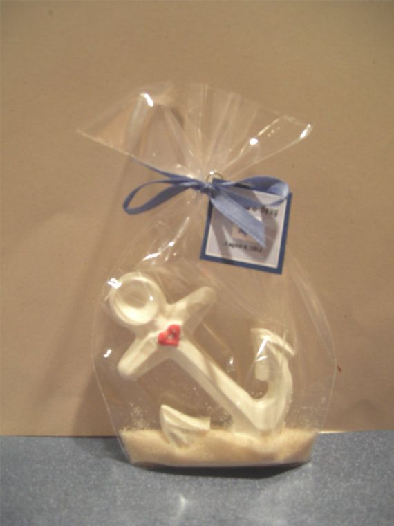 Nautical Chocolate Anchor Wedding Or Party Favor By