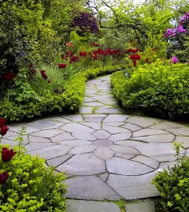 17 best images about Patio ideas for leftover flagstone on ... on Stepping Stone Patio Ideas  id=94749