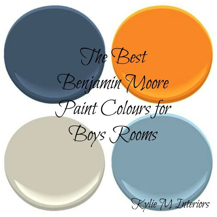 The Best Benjamin Moore Paint Colours for Boys Rooms – Kylie M Interiors