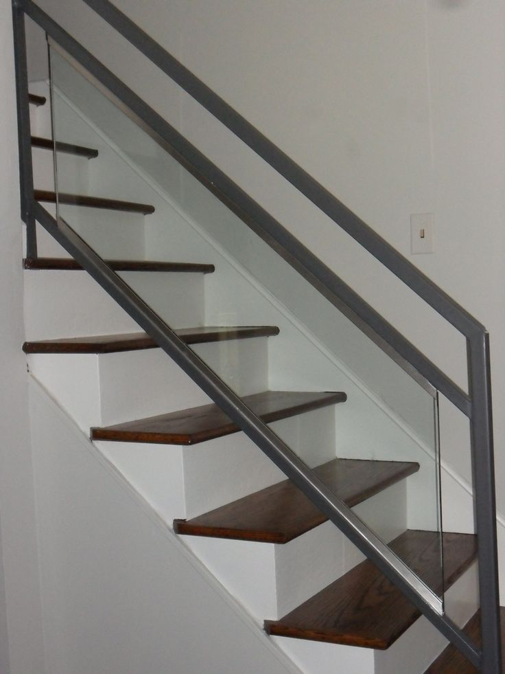 Updating Stairs And Railings In A Split Level Home Wood