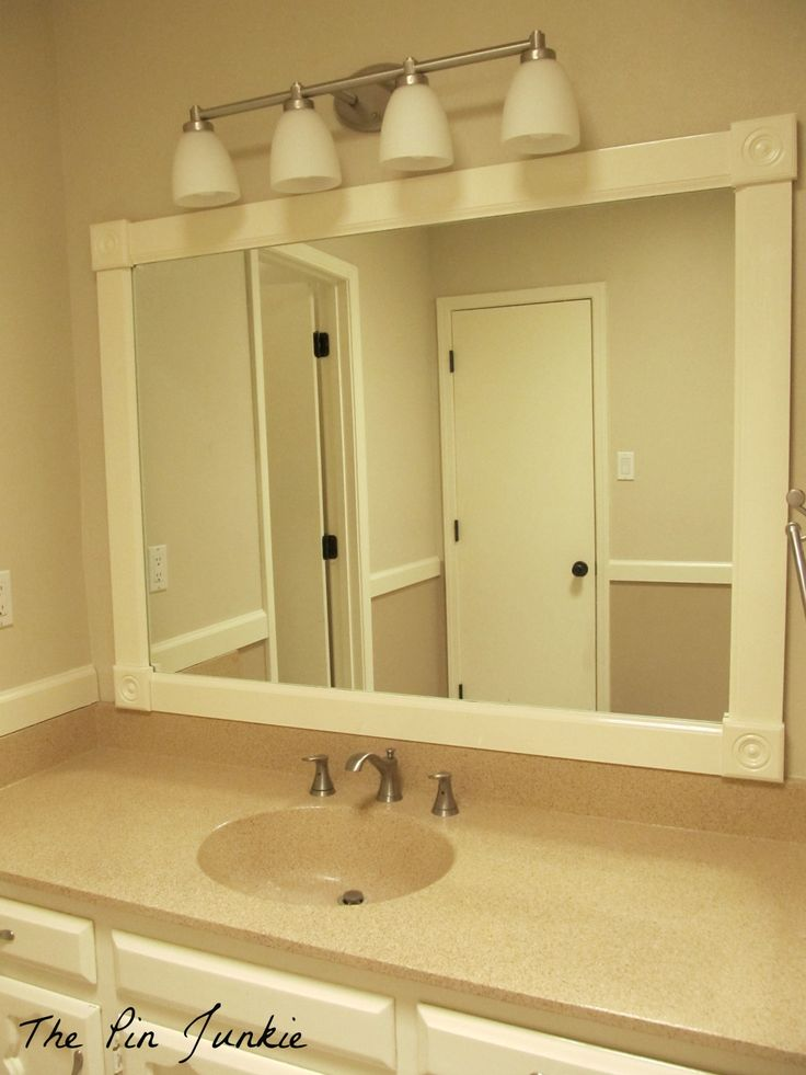 How Remove Bathroom Mirror Metal Clips