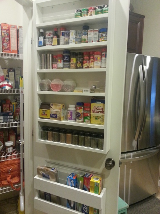 pantry door storage diy diy pinterest cabinets pantry and pantry door storage on do it yourself kitchen organization id=93097