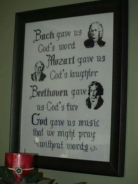 Quote From A German Opera House Bach Gave Us Gods Word