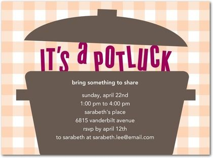 17 Best Images About Potluck Invitations On Pinterest Fiesta Invitations Free Printable Party