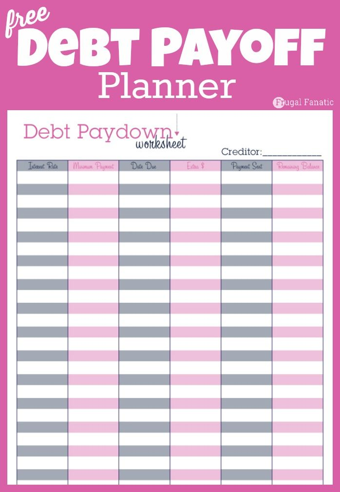 Diy Planner Printables Free Organizer