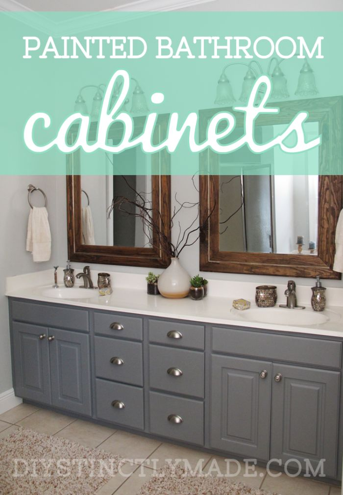 How to repaint bathroom
