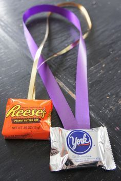 Candy Medals for Family Gam