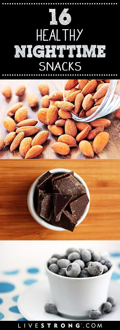16 Snacks That Are OK to Eat at Night | Eating past 8.p.m. has been known to get a bad rap. In reality the reason you may have