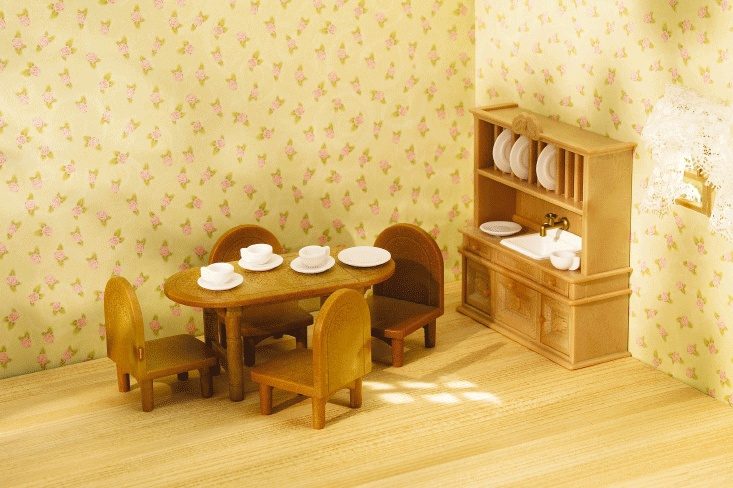 17 Best Images About Calico Critters On Pinterest Oakwood Homes Coupe And Country Dining Rooms