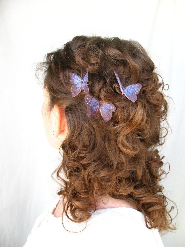 23 Best Images About Purple Butterfly Clips On Pinterest