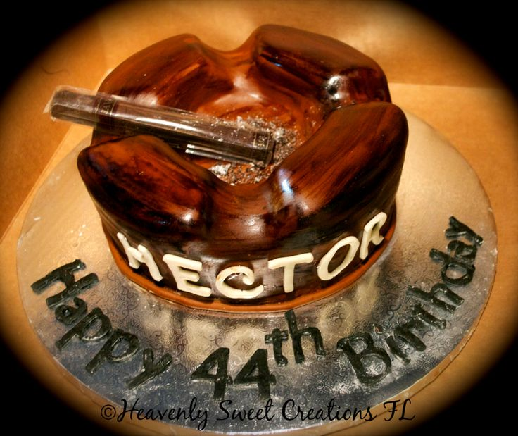 Ashtray Cake Cigar Cake Birthday Cake By Ashley
