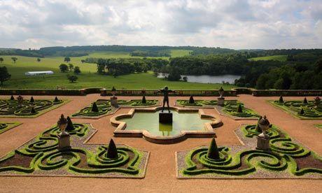 capability brown english landscape gardens Capability Brown, gardens at Harewood   Landscape Design