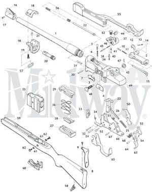 Ruger Mini14 Schematic is here at