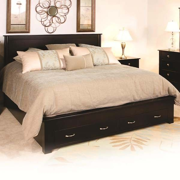 California King Bed Frame With Drawers WoodWorking