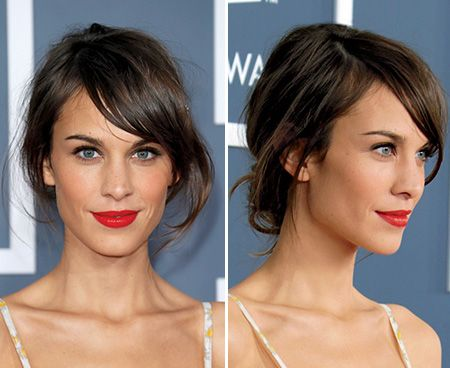 In an upcoming wedding? Have short hair? Here is our lob updo how-to