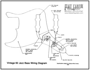 Vintage 62 Jazz bass Wiring Diagram | it's only rock