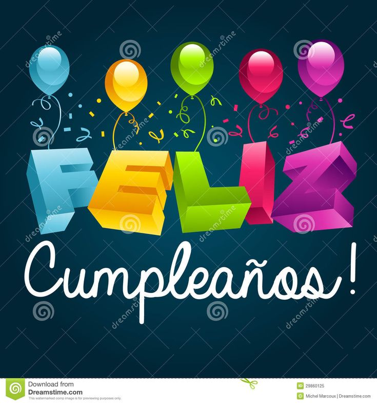 8 Best Images About Birthday Wishes Spanish On Pinterest Spanish Birthday Greetings And Happy