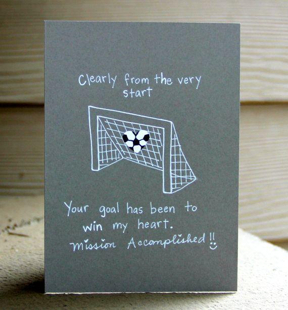 MVP Soccer Love Card Valentine Day Cards Soccer And Poem