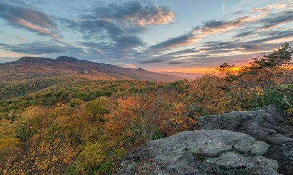 See the autumn sun rise over the High Country from ...