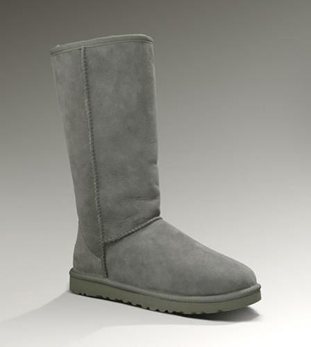 UGG Classic Tall 5815 Grey.. I am not an UGG person, but I do like these!