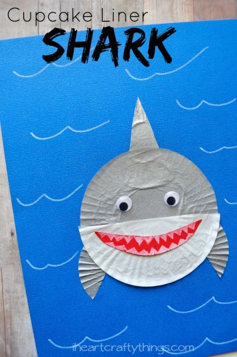 20 Simple Shark Crafts For Kids For Kids Crafts For