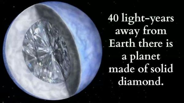 Diamond planet Space Pinterest Diamonds and Planets