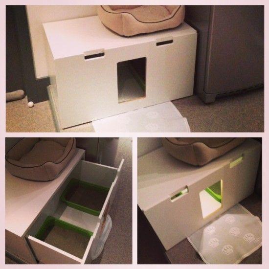 Stuva Litterbox For 4 Kitties Ikea Hackers Hacks